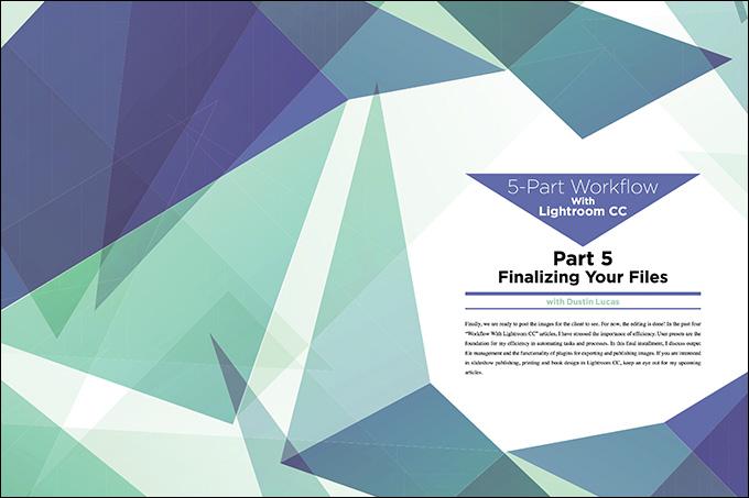 Finalizing Files